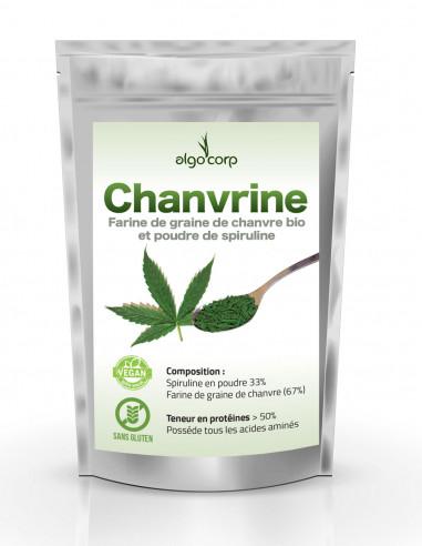 Chanvrine - Farine de chanvre bio et...